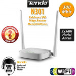 TENDA N301 4 Port 300mbps 2x5dBi Anten Kablosuz Router Access Point