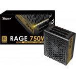 POWER BOOST BST-ATX750G 750W 80+Gold Full Modüler Siyah 12cm Fanlı Power Supply
